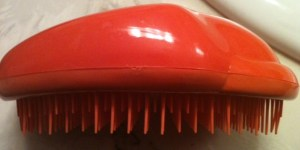 The Tangle Teezer-- a brush to end all brushes.
